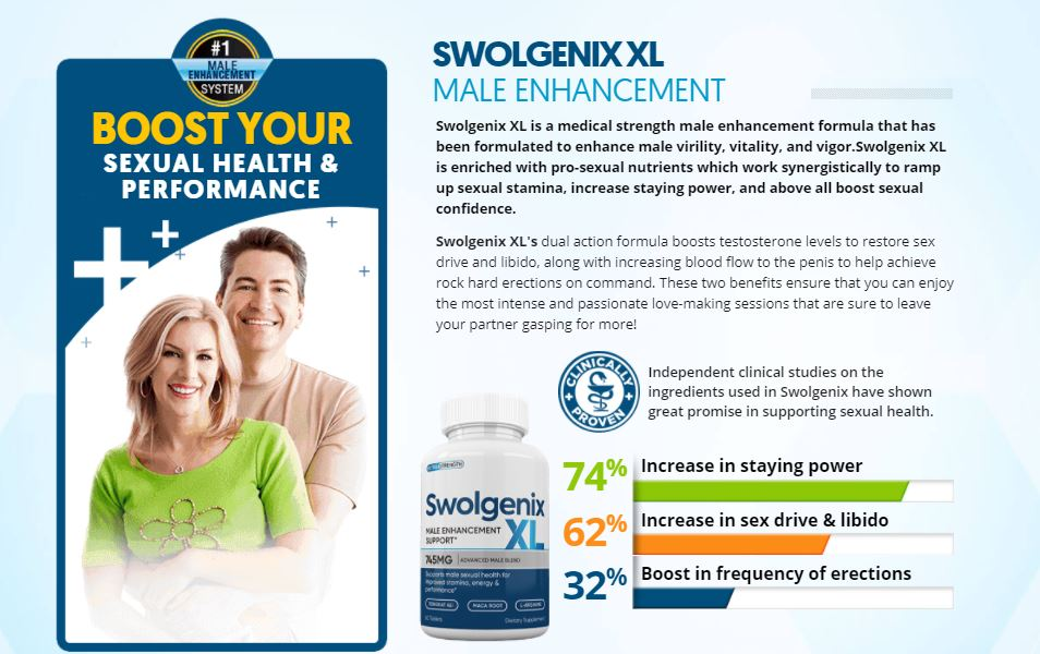 Benefits of Swolgenix XL Sexual Booster