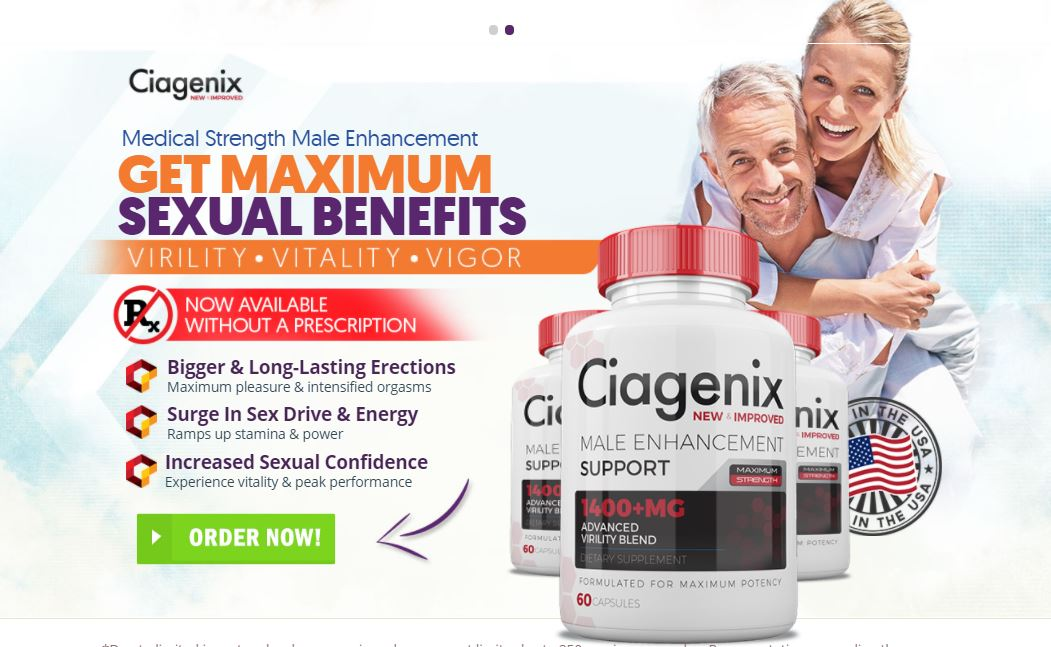 Buy Ciagenix Male Enhancement